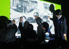 3·1운동·임시정부수립 <br>100주년을 기리며 2019년 4월 <br>누원고등학교 미술과 학생들 설치미술 전시회